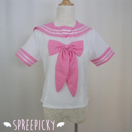 Pink Sailor Seifuku School Uniform Top Only SP140880 - SpreePicky  - 1