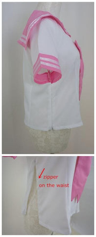Pink Sailor Seifuku School Uniform Top Only SP140880 - SpreePicky  - 5