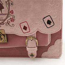 Load image into Gallery viewer, 4 Colors Goth Alice In Wonderland Backpack SP168519