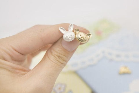 Bear/Bunny Earrings/Hair Clip SP154390 - SpreePicky  - 9