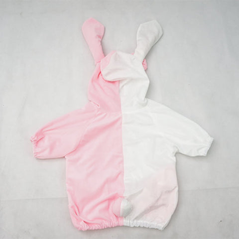 Danganronpa Monomi モノミ/ウサミ Pink/White Cute Hoodie Short Sleeve Pull Over Jumper Top  SP140858 - SpreePicky  - 6