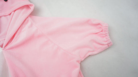 Danganronpa Monomi モノミ/ウサミ Pink/White Cute Hoodie Short Sleeve Pull Over Jumper Top  SP140858 - SpreePicky  - 8