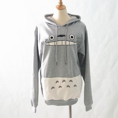 M-XXL Totoro Hooded Sweater SP153658 - SpreePicky  - 3