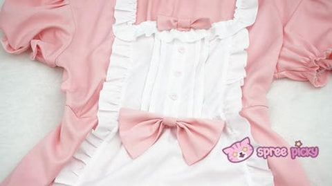 XS - 4XL Mint/Pink Pastel Candy Maid Dress SP152182 - SpreePicky  - 8