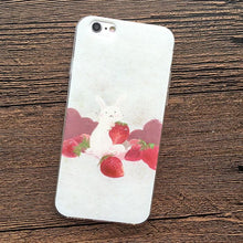 Load image into Gallery viewer, Bunny Cream Strawberry Phone Case SP165233