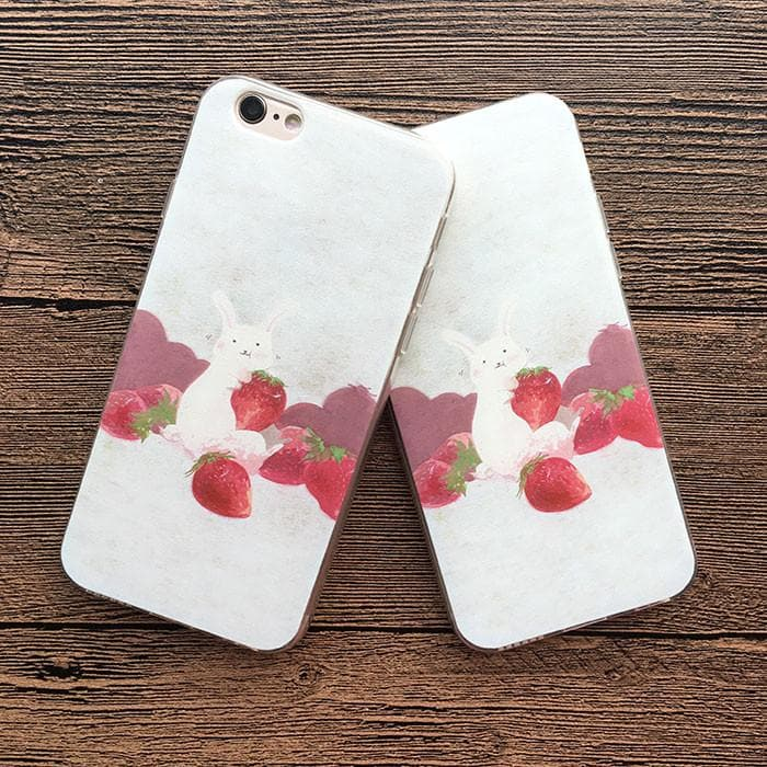 Bunny Cream Strawberry Phone Case SP165233