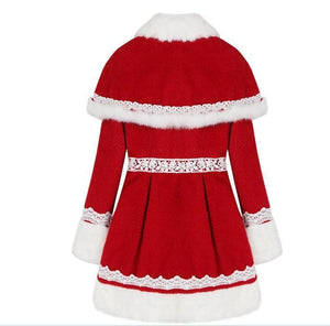 S/M/L Happy Holiday Woolen Cape Coat SP153427 - SpreePicky  - 9