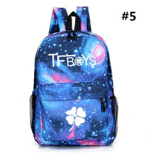 Load image into Gallery viewer, TFBOYS Galaxy Backpack SP165291 Kawaii Aesthetic Fashion - SpreePicky