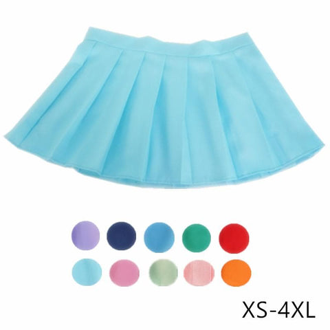 [10 Colors] Custom Made J-fashion Sailor Seifuku Uniform Pleated Skirt Only SP151672