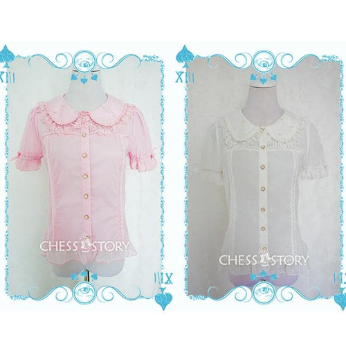 Chess Story [Candy Doll] Colorful Blouse Top SP141097 - SpreePicky  - 1
