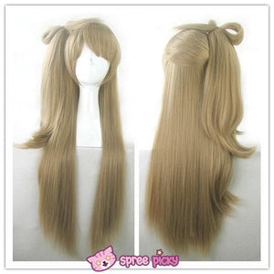 [Cosplay] [LoveLive!] Minami Kotori Long Linen Wig With Tail SP141607 - SpreePicky  - 4