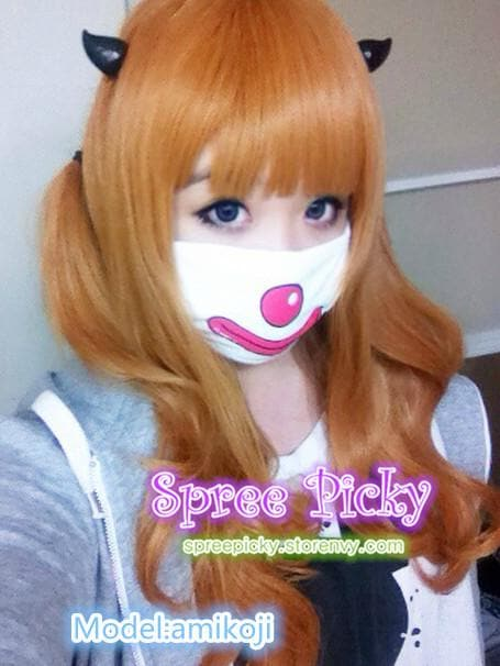 HARAJUKU Cos Wig Lolita Young Girl Gold Daily Wear SP130100 - SpreePicky  - 1