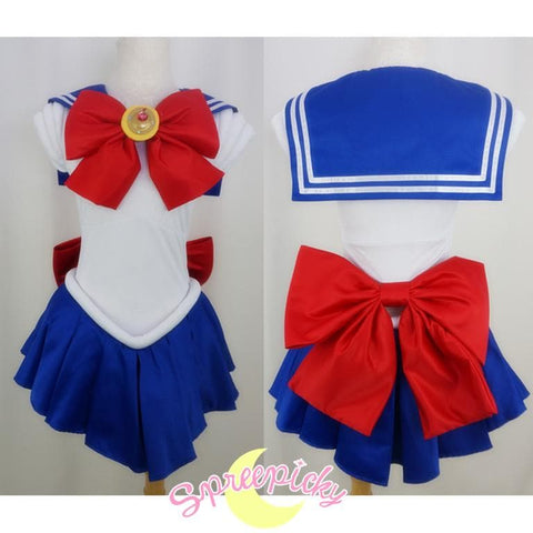 Cosplay Sailor Moon Usagi Transformer Senshi Uniform Set Custom SP140895 - SpreePicky  - 1