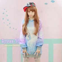 Load image into Gallery viewer, J-fashion  Velveteen Sweater - Pastel Unicorn SP130109 - SpreePicky  - 2