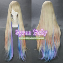 Load image into Gallery viewer, Pastel Lolita gradual colorful long wig SP130072 - SpreePicky  - 1