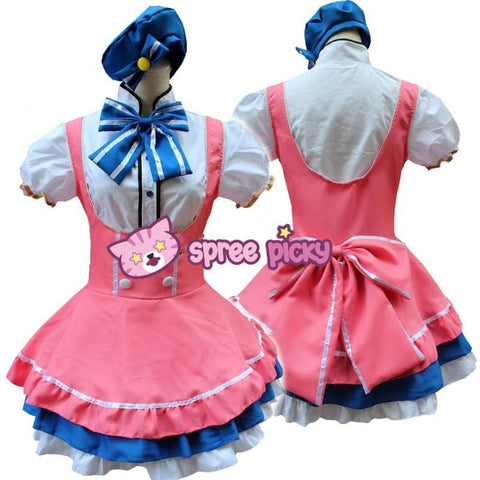 Cosplay Love Live Candy Princess Minami Kotori Maid Dress Set SP151724 - SpreePicky  - 3