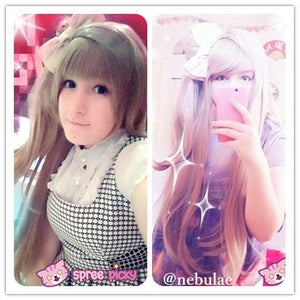[Cosplay] [LoveLive!] Minami Kotori Long Linen Wig With Tail SP141607 - SpreePicky  - 3