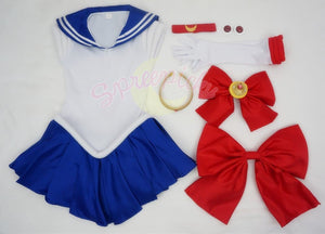 Cosplay Sailor Moon Usagi Transformer Senshi Uniform Set Custom SP140895 - SpreePicky  - 2