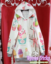 Load image into Gallery viewer, J-fashion Velveteen Sweater - Color Cakes SP130111 - SpreePicky  - 3