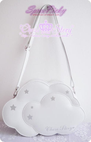 【The unicorn castle】Chess Story Lolita Cloud Bag SP130060 - SpreePicky  - 2