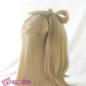 [Cosplay] [LoveLive!] Minami Kotori Long Linen Wig With Tail SP141607 - SpreePicky  - 6