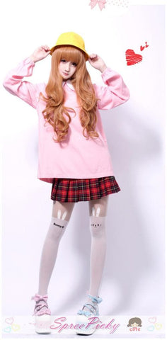 HARAJUKU Cos Wig Lolita Young Girl Gold Daily Wear SP130100 - SpreePicky  - 4