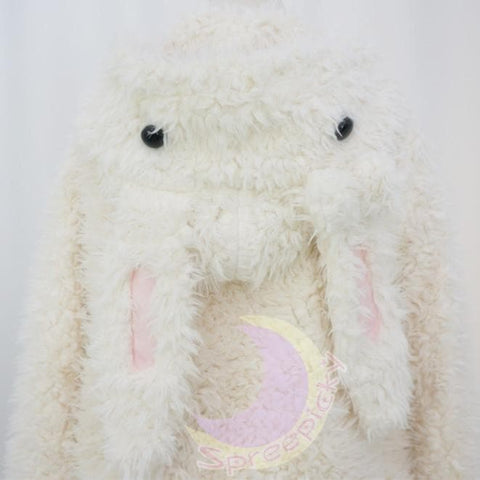 Kawaii Rabbit Long Ears Fluffy Coat High Quality -COAT only SP130089 - SpreePicky  - 5
