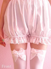 Load image into Gallery viewer, Lolita Cosplay Simple White Lantern Bloomer SP130106 - SpreePicky  - 2