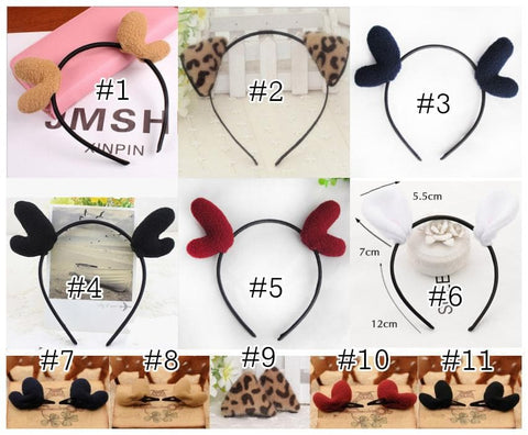 11 styles Cutie Animal Ear Hairband SP152860 - SpreePicky  - 2