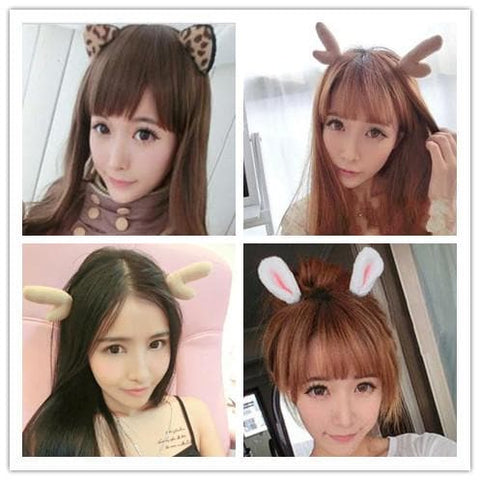 11 styles Cutie Animal Ear Hairband SP152860 - SpreePicky  - 1