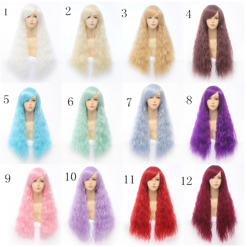 12 Colors Cosplay Lolita Pastel Wig SP141211 - SpreePicky  - 1