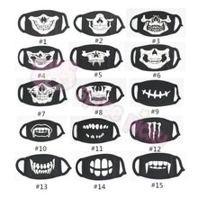 Load image into Gallery viewer, 15 Patterns Glow Skull Noctilucous Dust Mask SP152119 - SpreePicky  - 3
