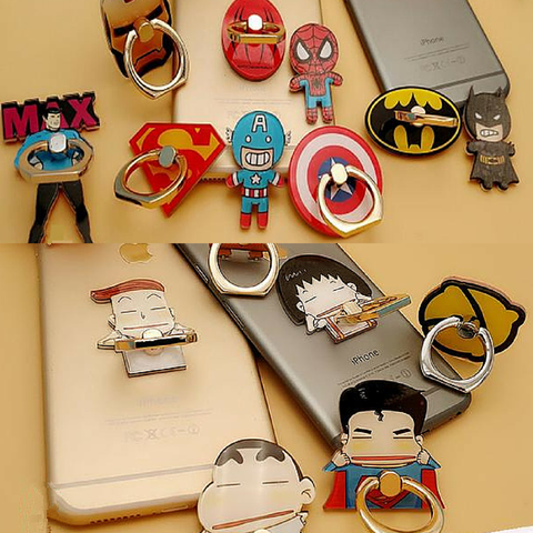 16 Patterns Kawaii Cartoon Ring Holder for Phone SP166487