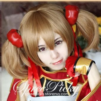 Sword Art Online Silica Brown Wig SP130160 - SpreePicky  - 5