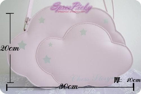 【The unicorn castle】Chess Story Lolita Cloud Bag SP130060 - SpreePicky  - 4