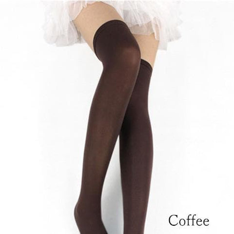 15 Colors Cosplay Basic Pure Color Thigh High Stocking SP130234 - SpreePicky  - 6