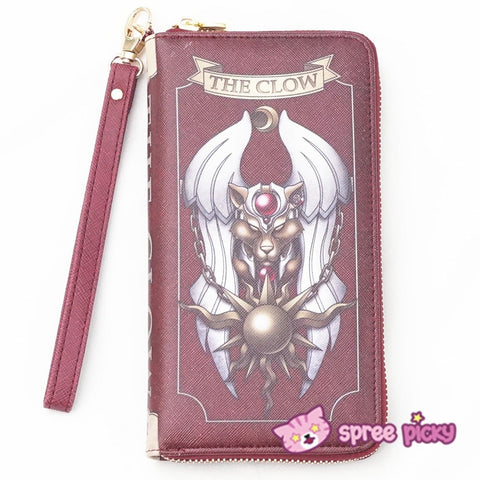 2 Colors Card Captor Sakura Magic Book Hand Bag Purse Can Pack Phone SP151782 - SpreePicky  - 7