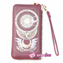 Load image into Gallery viewer, 2 Colors Card Captor Sakura Magic Book Hand Bag Purse Can Pack Phone SP151782 - SpreePicky  - 9
