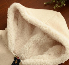 Load image into Gallery viewer, 2 Colors Winter Kawaii Fluffy Fleece Cape With Kitten On Back SP141478 - SpreePicky  - 8