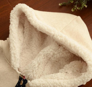 2 Colors Winter Kawaii Fluffy Fleece Cape With Kitten On Back SP141478 - SpreePicky  - 8