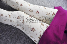 Load image into Gallery viewer, {3 For 2} Gold Stamp Sands of Time Tights SP130058 - SpreePicky  - 2