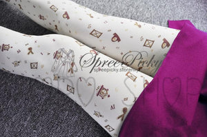 {3 For 2} Gold Stamp Sands of Time Tights SP130058 - SpreePicky  - 2