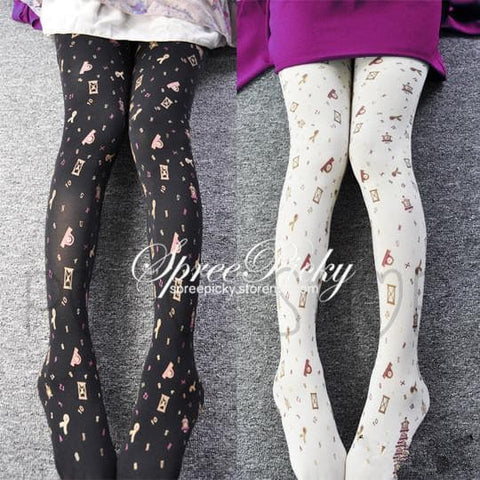 {3 For 2} Gold Stamp Sands of Time Tights SP130058 - SpreePicky  - 1