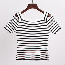 Load image into Gallery viewer, 3 Colors Cute Japanese Girl Stripe Shirt SP152302 - SpreePicky  - 8