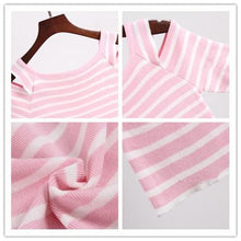Load image into Gallery viewer, 3 Colors Cute Japanese Girl Stripe Shirt SP152302 - SpreePicky  - 9