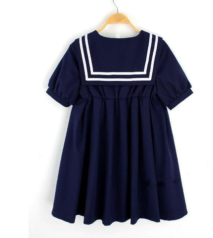 S-5XL 3 Colors Cutie Sailor Dress SP152287 - SpreePicky  - 5