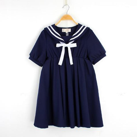S-5XL 3 Colors Cutie Sailor Dress SP152287 - SpreePicky  - 4