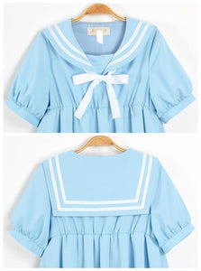 S-5XL 3 Colors Cutie Sailor Dress SP152287 - SpreePicky  - 8