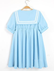 S-5XL 3 Colors Cutie Sailor Dress SP152287 - SpreePicky  - 3