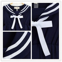 Load image into Gallery viewer, S-5XL 3 Colors Cutie Sailor Dress SP152287 - SpreePicky  - 9